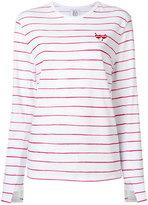 Zoe Karssen striped T-shirt - women - Cotton/Linen/Flax - S