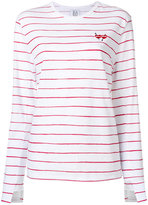 Zoe Karssen striped T-shirt - women - Cotton/Linen/Flax - XS