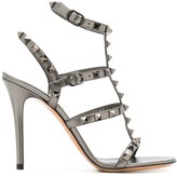 Valentino Garavani Rockstud 105mm Caged sandals
