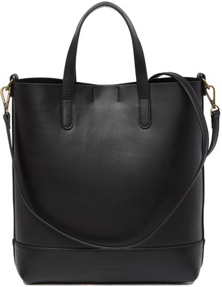 Melrose and Market Audrey Smooth Leather Tote