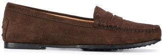 Tod's City Gommino suede shoes