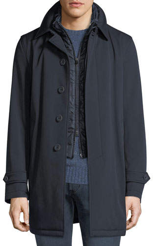 Herno Men's Storm System Rain Coat