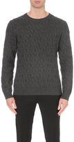 Sandro Cable Knitted Jumper