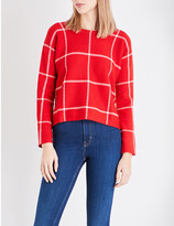 Maje Mademoise knitted jumper