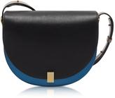 Victoria Beckham Multimaterial Half Moon Box Shoulder Bag