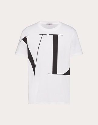 Valentino Macro Vltn T-shirt Man White Cotton 100% XXL