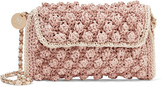 M Missoni Textured crochet-knit shoulder bag