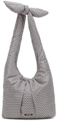 Ganni Padded printed shoulder bag
