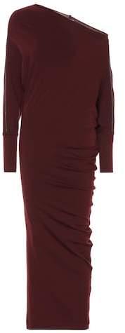 Brunello Cucinelli Embellished wool dress