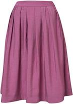 Purple Shimmer Full Skirt