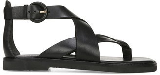 Vince Morris Leather Thong Sandals