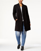 Style&Co. Style & Co Plus Size Fringe Duster Cardigan, Created for Macy's