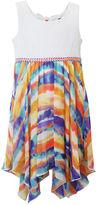 Rare Editions Lilt Sleeveless Tie-Dye Sharkbite Dress - Preschool Girls 4-6x