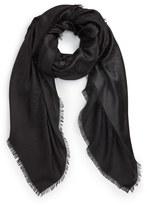 Valentino Women's 'Viva' Wool & Silk Fringe Scarf