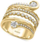 Effy D'Oro by EFFYandreg; Diamond Wrap Ring (1-1/5 ct. t.w.) in 14k Gold