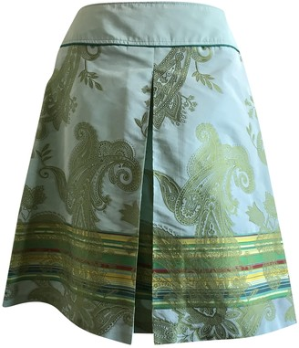 Sand Green Skirt for Women