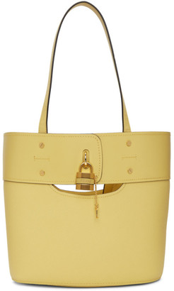 Chloé Yellow Medium Aby Tote