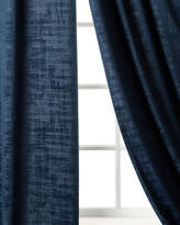 "Dian Austin Couture Home Manhattan Velvet Curtain, 108""L"