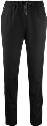 Fabiana Filippi Slim-Fit Track-Style Trousers