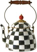 Mackenzie Childs MacKenzie-Childs - Courtly Check Enamel Tea Kettle - Small