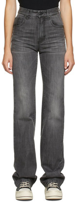 Palm Angels Grey Flared Jeans