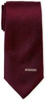 Missoni Contrast Stripe Silk Tie