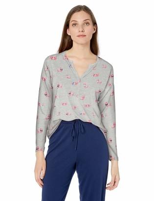 Hatley Women's Henley Pajama Top