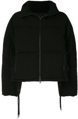 Yohji Yamamoto Hooded Oversized Jacket