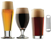 Libbey Set of 16 Assorted Beer Glasses