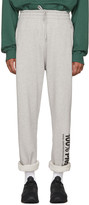 Vetements Grey 100% Pro Baggy Lounge Pants