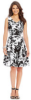 Peter Nygard Audrey Fit and Flare Dress