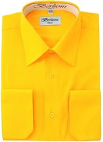 Berlioni Solid Mens Dress Shirt
