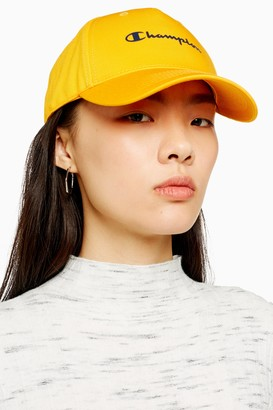 Champion Womens Yellow Unisex Cap By Yellow