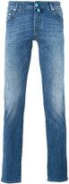 Jacob Cohen slim fit jeans - men - Cotton/Polyester/Spandex/Elastane - 30