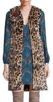 Alice + Olivia Jade Faux Fur Leopard-Print Vest