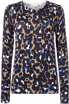 Linea Leopard print jumper