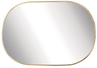 Bloomingville Brass Oval Mirror