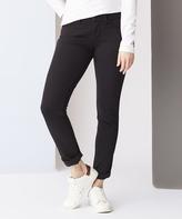 Black Aiko Mid-Rise Skinny Jeans