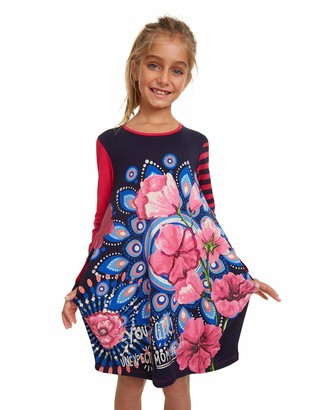 Desigual Girls' Dress TAMARINDO