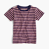 J.Crew Boys' pocket T-shirt in indigo stripe