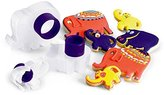 Cuisipro Zoo Animals Snap-Fit 3-Piece Cookie Cutter Set.