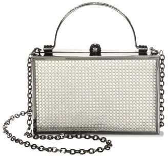 Whiting & Davis Band Street Clutch