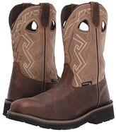 Wolverine Rancher Aztec Steel-Toe Wellington Work Boot (Bone) Men's Boots