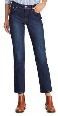 Lauren Ralph Lauren Straight-Fit Low-Rise Jeans