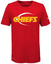 Nike Nfl Legend Kansas City Chiefs T-Shirt, Little Boys(4-7)