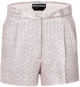Rochas Silk Blend Textured Shorts