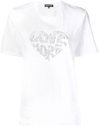 Markus Lupfer Alex sequin Love T-shirt