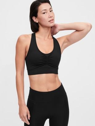 Gap GapFit Eclipse Medium Impact T-Back Longline Sports Bra