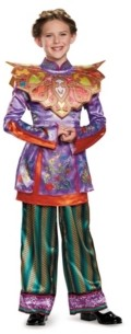 BuySeasons Alice in Wonderland Through The Looking Glass Deluxe Asian Alice Little and Big Girls Costume