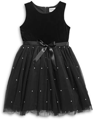 4ever Free Girl's Embellished Tulle Dress